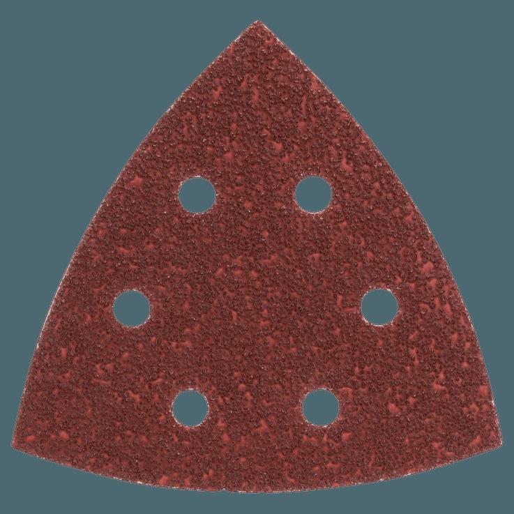 Set di fogli abrasivi 105 mm da 5 pezzi