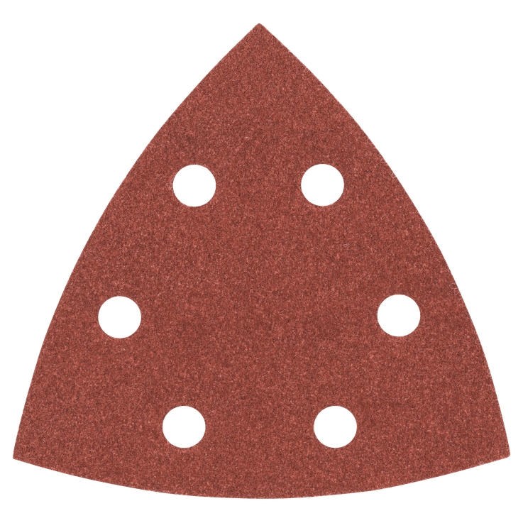 Set di fogli abrasivi 93 mm da 25 pezzi