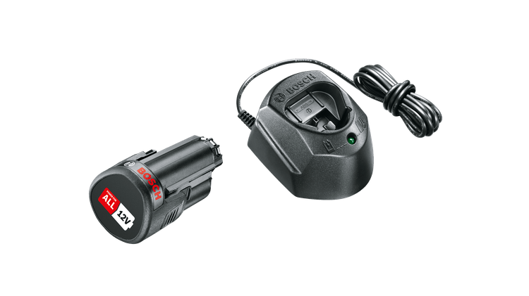 Starter Set 12 V (1 batteria da 1,5 Ah, caricabatteria GAL 1210 CV)