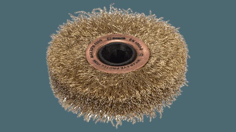 Šepetys (dengtas žalvariu)