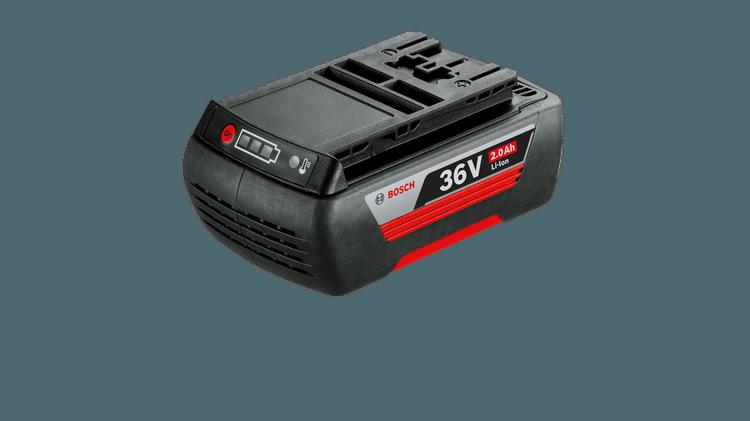 36 V/2,0 Ah litija-jonu akumulators