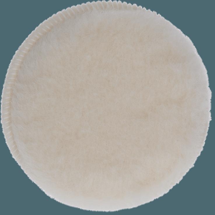 Lamswollen poetsschijf voor excenterschuurmachines