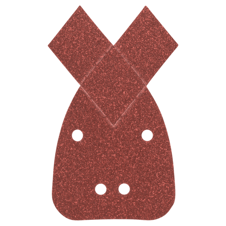 25-delers slipearksett til multislipere, korning 80, 120, 180