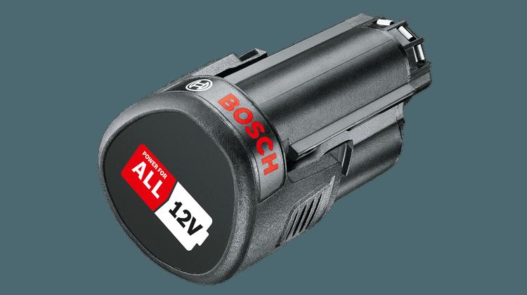 Batteripakke PBA 12V 2,5Ah O-B