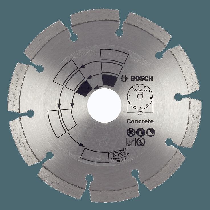 Diamantkappeskive for betong
