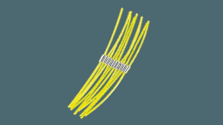 Ekstra sterk tråd 23 cm (2,4 mm)