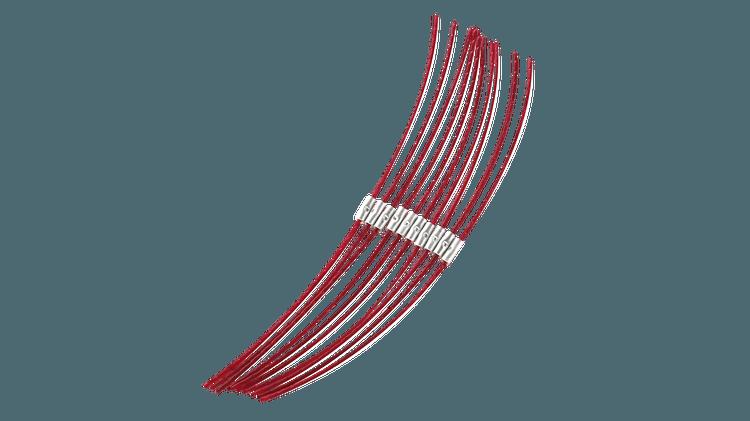 Ekstra sterk tråd 26 cm (2,4 mm)