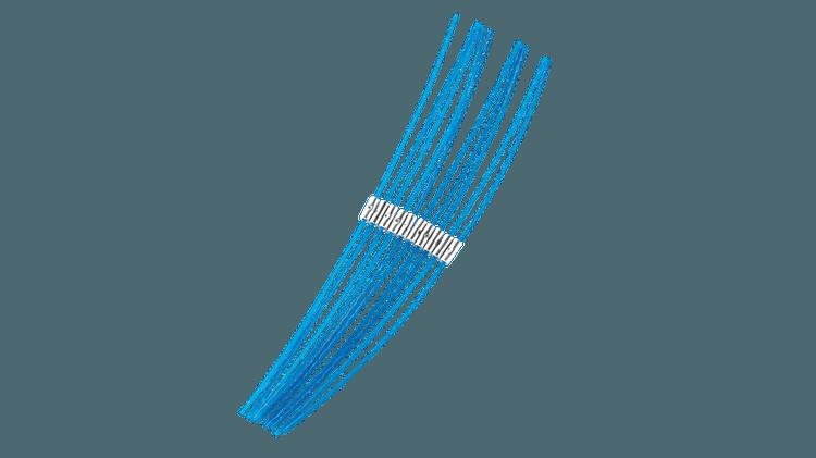 Ekstra sterk tråd 30 cm (2,4 mm)