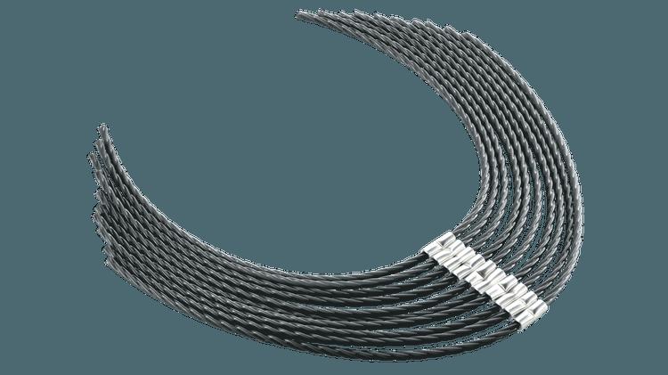 Ekstra sterk tråd 37 cm (3,5 mm)
