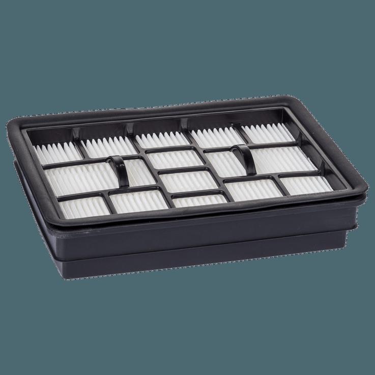 Flatfoldet filter