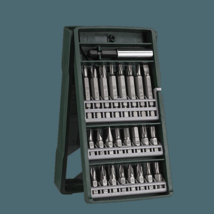 Mini-X-Line-sett med skrutrekkerbits, 25 deler