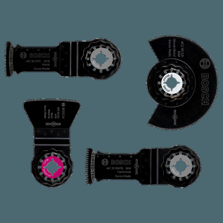 Starlock-sett for gulv og montering, 4 deler