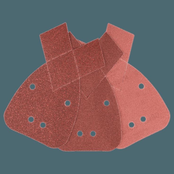 Zestaw arkuszy ściernych do szlifierek wielofunkcyjnych (6 szt.)