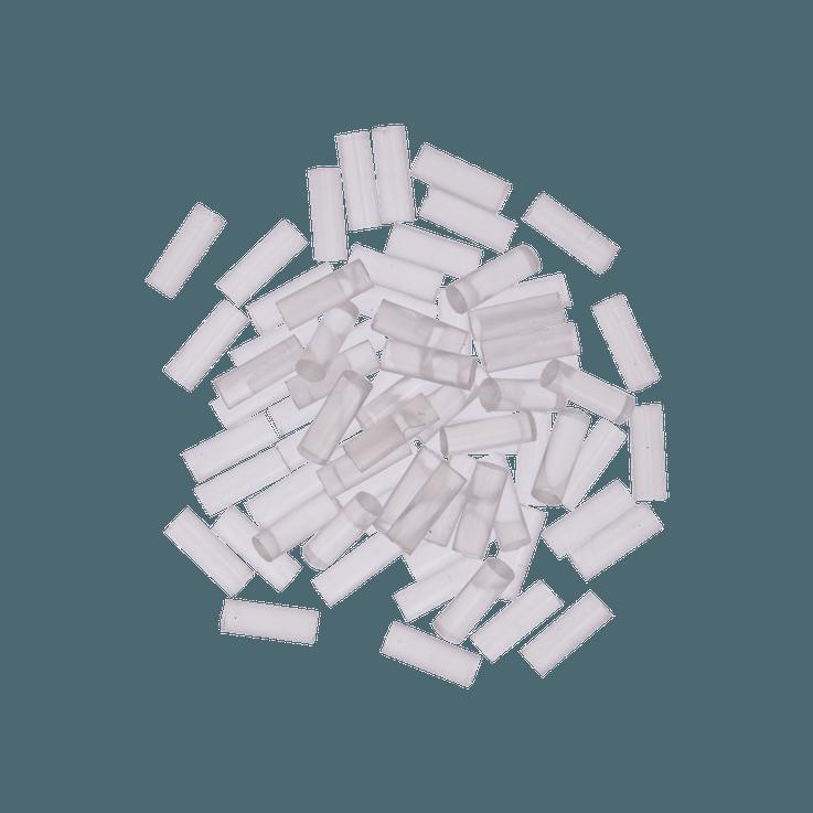 Bastões Gluey, transparentes