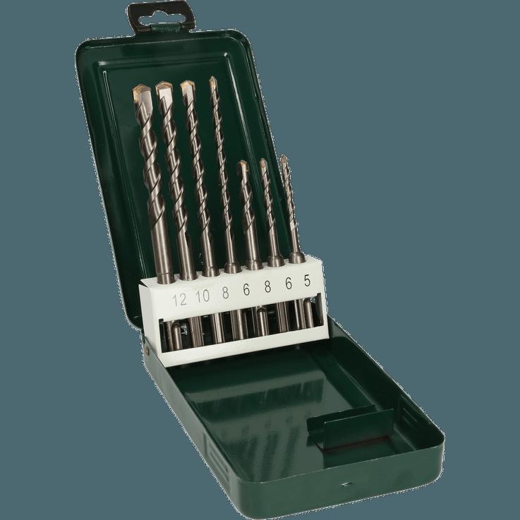 Conjunto de brocas para martelo SDS plus, 7 peças
