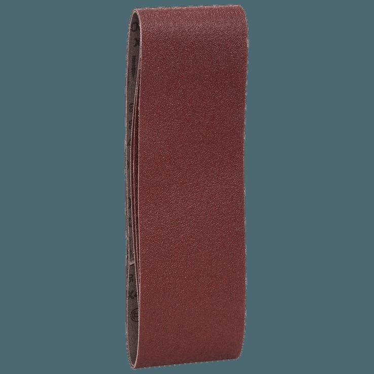 Conjunto de Cintas de lixa, 73 x 533 mm, 3 peças, misto