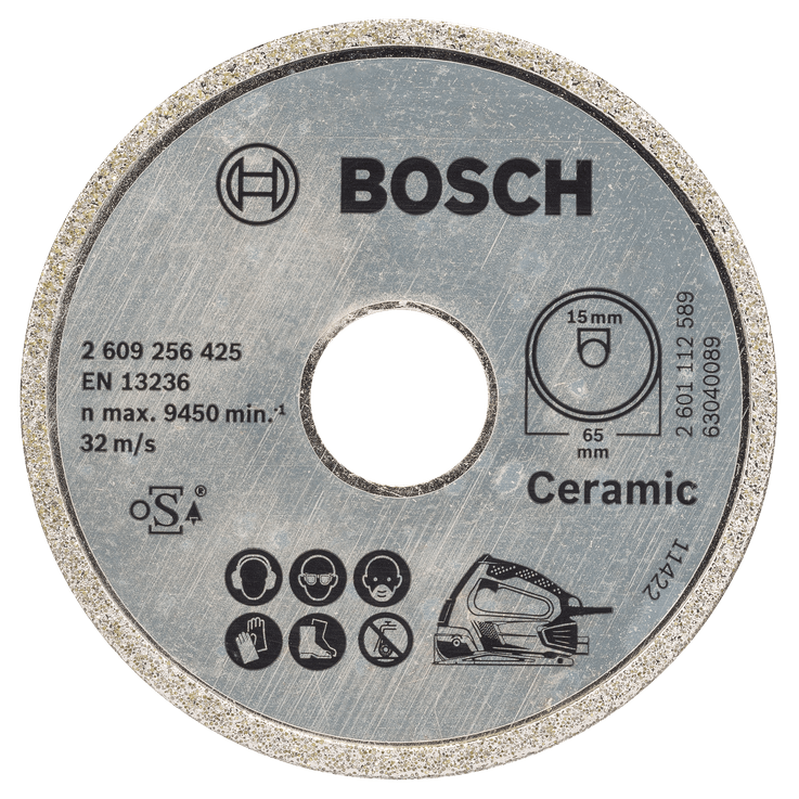 Disco de corte com diamante Standard for Ceramic
