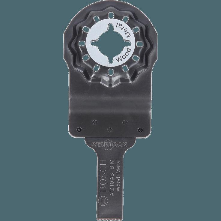 Pânză de ferăstrău pentru tăieturi cu intrare directă Starlock AIZ 10 AB HCS