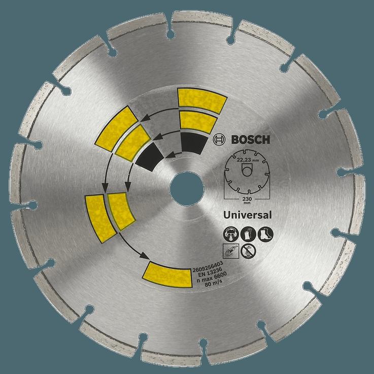 Алмазный отрезной диск Universal