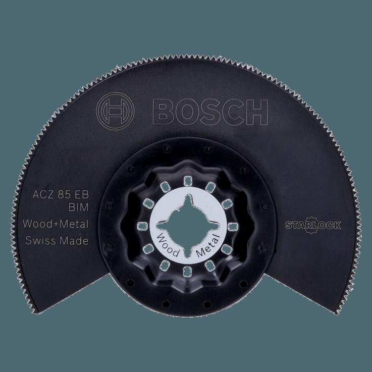 Биметаллическое сегментированное пильное полотно Starlock ACZ 85 EB