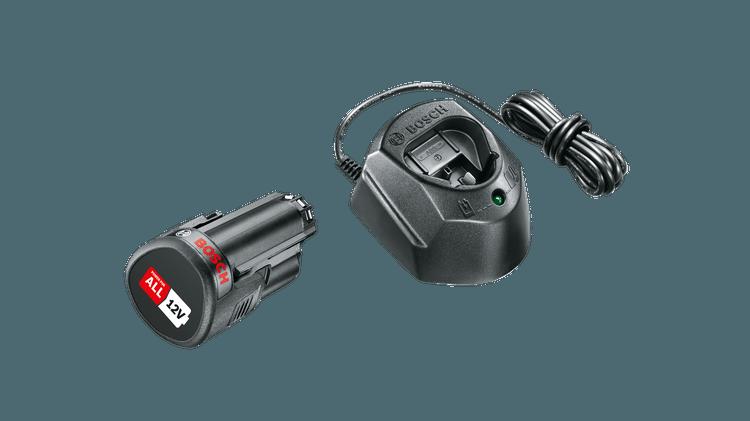 Базовый набор 12 B (1 аккумулятор емкостью 1,5 А·ч + зарядное устройство GAL 1210 CV)