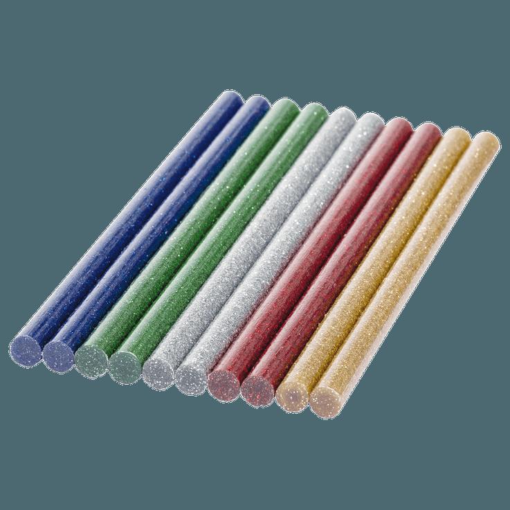 Клеевые стержни Glitter (с блестками), 7 мм