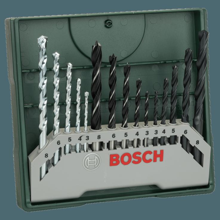 15-dielna zmiešaná súprava Bosch Mini-X-Line