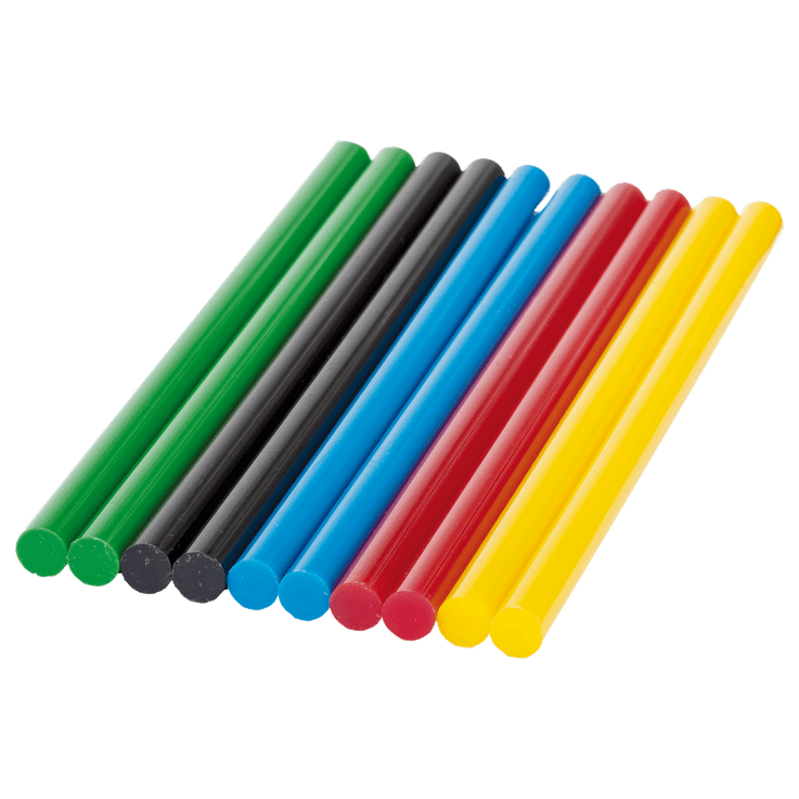 Lepilne palčke Colour, 7 mm