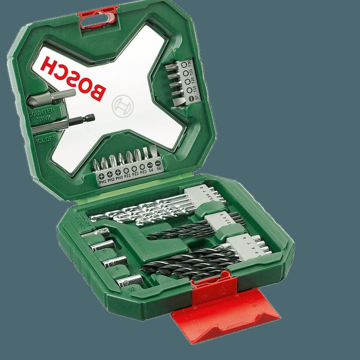 Bosch X-Line Classic borr och bitssats, 34 delar