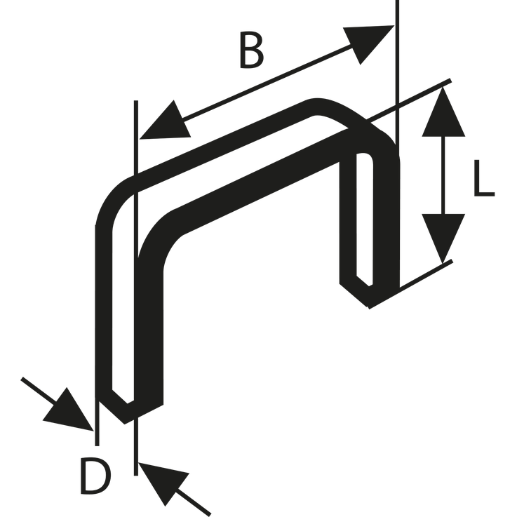Fintrådsklammer, typ 53