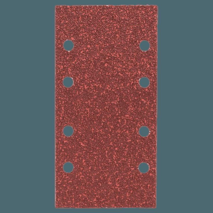 Eksantrik zımpara makineleri için 10 parçalı zımpara kağıdı seti
